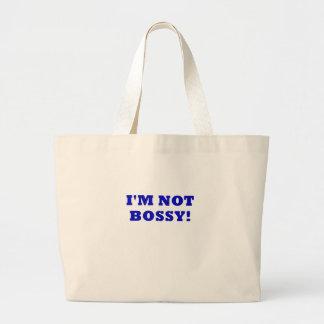 I'm Not Bossy Jumbo Tote Bag