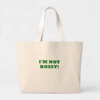 Im Not Bossy Jumbo Tote Bag