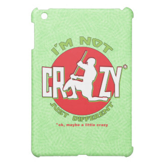 I'm Not Crazy, Lacrosse Goalie iPad Case
