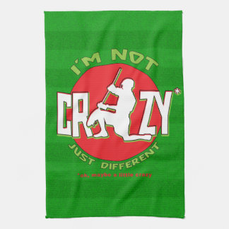 I'm Not Crazy, Lacrosse Goalie Kitchen Towel
