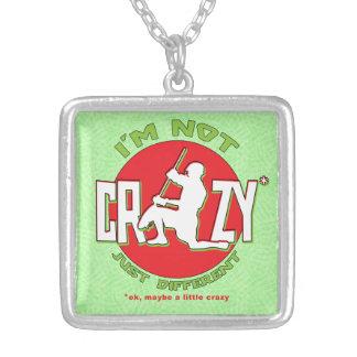 I'm Not Crazy, Lacrosse Goalie Necklace