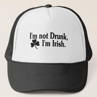 Im Not Drunk Im Irish 3 Trucker Hat