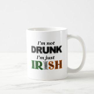 I'm not drunk, I'm just Irish Coffee Mug