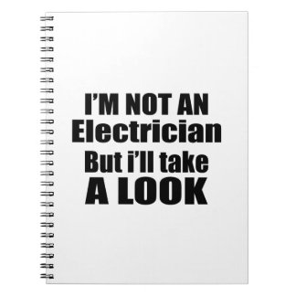 I'm not Electrician but i'll take a look Spiral Notebooks