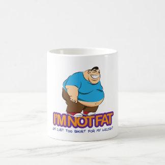 I'm Not Fat Coffee Mug