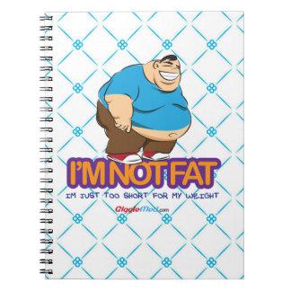 I'm Not Fat Notebook