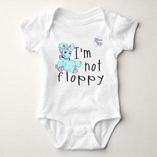 I'm Not Floppy! Down's Syndrome Awareness Baby Bodysuit