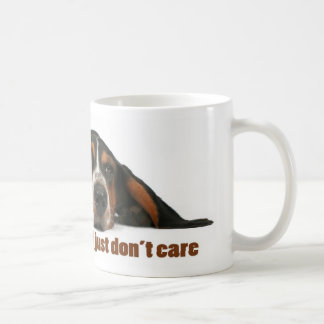 I'm not lazy, I just don't care Coffee Mug