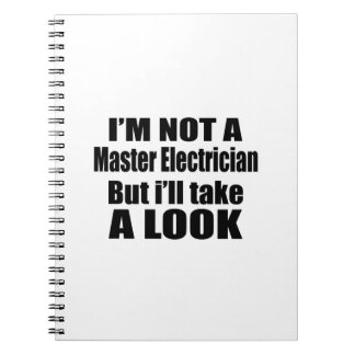 I'm not Master Electricianbut i'll take a look Spiral Note Books