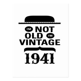 I'm not old, I'm vintage 1941 Postcard