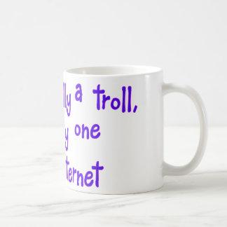 I'm not really a troll basic white mug