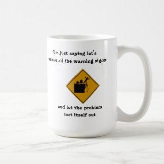 I'm Not Saying Kill All the Stupid People... Basic White Mug