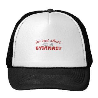 I'm Not Short I'm A Gymnast Funny Gift Trucker Hat