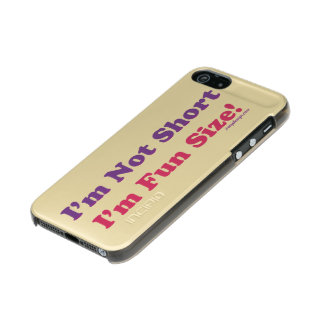 I'm Not Short, I'm Fun Size! Incipio Feather® Shine iPhone 5 Case