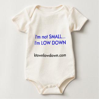 I'm not SMALL...I'm LOW DOWN, ktownlowdown.com Baby Bodysuit