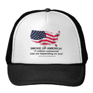 I'm not smoking, I'm insuring the HAT