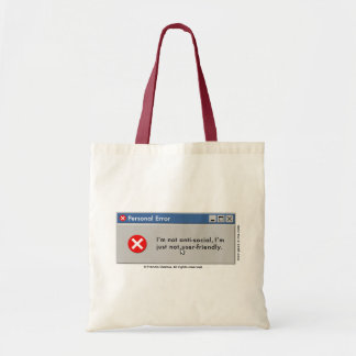 I'm Not Userfriendly bag! Tote Bag