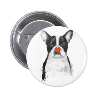 I'm not your clown 2 inch round button
