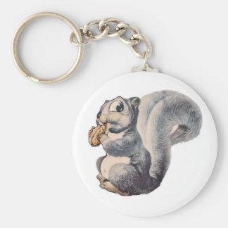 I'm Nuts Squirrel Key Chain