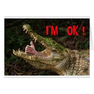 I'm ok ! card