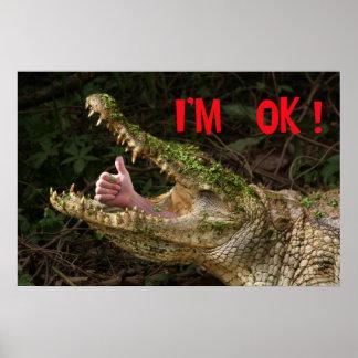 I'm ok ! poster