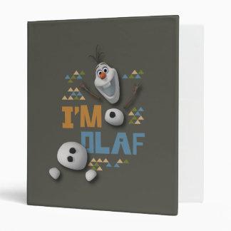 I'm Olaf Vinyl Binder