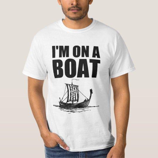 Im on a Boat Senior Shirt