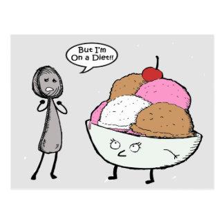 I'm on a Diet Postcard