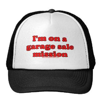 Im On A Garage Sale Mission T Mesh Hats