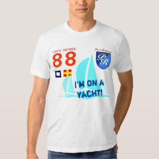 I'm on a Yacht Funny Sail Boat Sailing T-Shirt