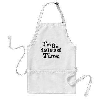 Im on island time standard apron