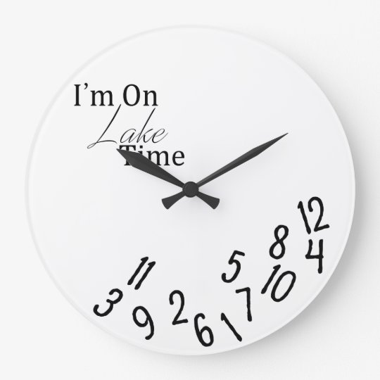 I'm On Lake Time Clock
