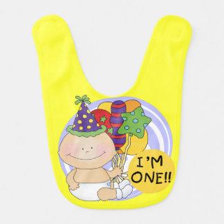 I'm ONE 1st Birthday Bib
