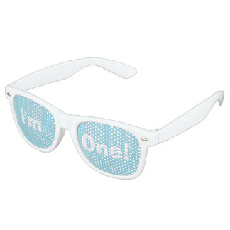 """I'm One!"" Party Shades (blue)"