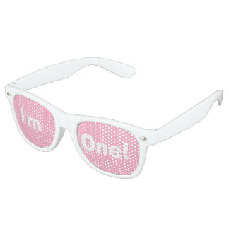 """I'm One!"" Party Shades (pink)"
