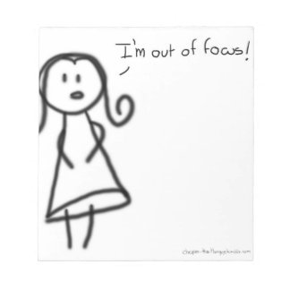 I'm out of focus notepad