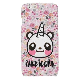 Im Pandicorn Cute Panda Unicorn Pink Floral