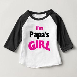 I'm Papa's Girl Baby T-Shirt