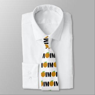 IM Peach Tie