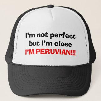 I'M PERUVIAN TRUCKER HAT