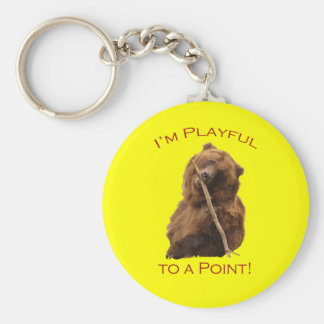 I'm Playful to a Point! Keychain