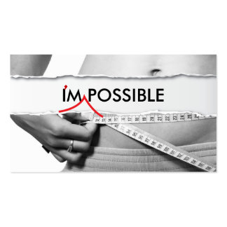 I'm Possible Fitness Business Card