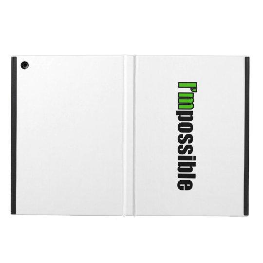 I'm Possible iPad Case (Green)