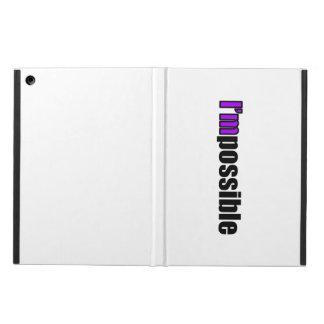 I'm Possible iPad Case (Purple)