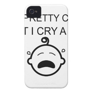 I'm Pretty Cool But I Cry A Lot iPhone 4 Covers