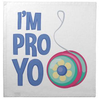 Im Pro Yo Cloth Napkin