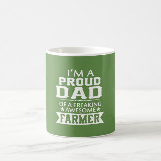 I'M PROUD FARMER'S DAD COFFEE MUG