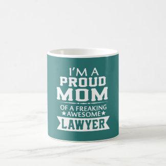 I'M PROUD LAWYER'S MOM COFFEE MUG