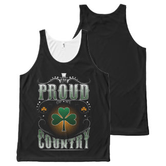 i'm proud of my country All-Over-Print tank top