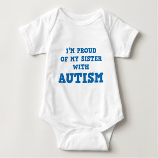 I'm Proud Of My Sister With Autism Shirt